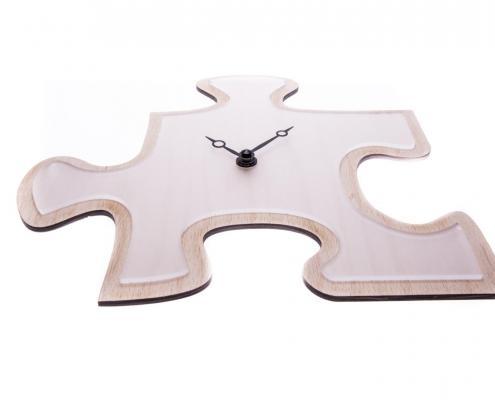 Hodiny 1 puzzle řemeslné ručně vyrobené